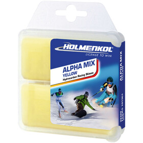 Holmenkol Alphamix Yellow Basis Cire 2 x 35g